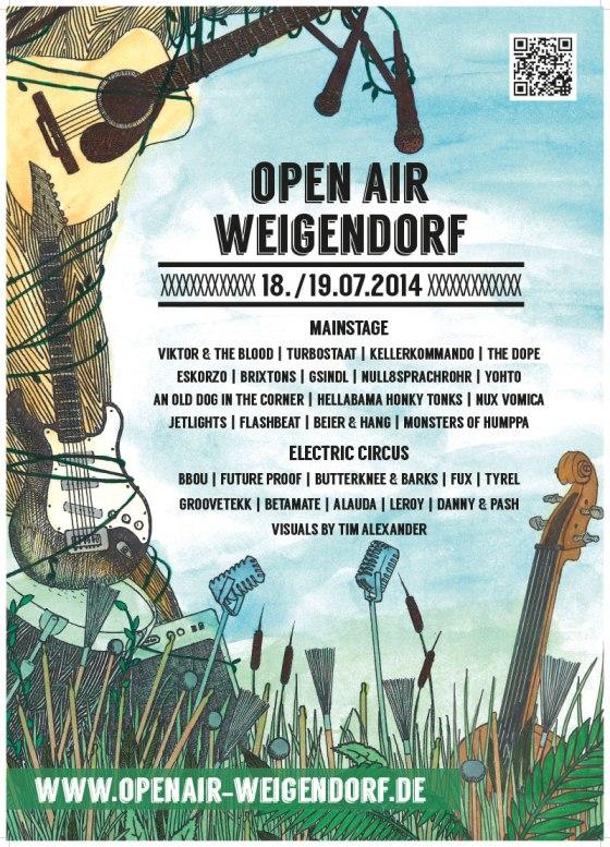 live: 19.07 null8sprachrohr @ open air weigendorf